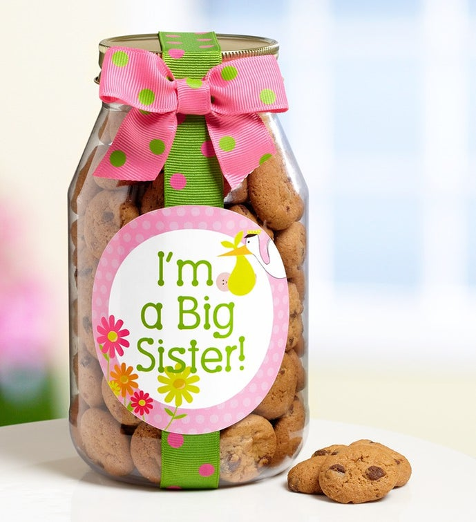 I'm a Big Sister! Chocolate Chip Cookie Jar