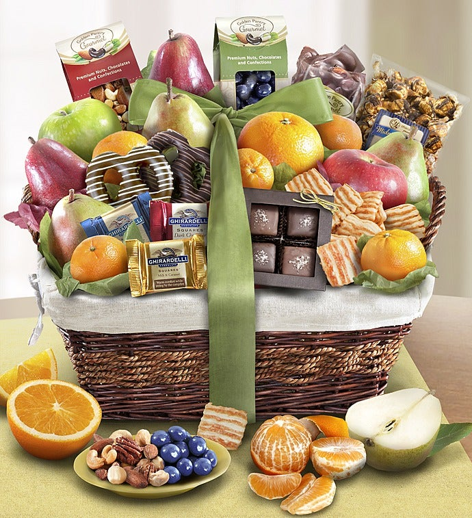 Fruit and Sweets Basket | 1-800-FLOWERS.COM