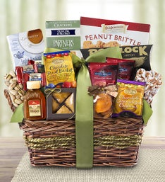 Kosher Gourmet Sweets and Savories Gift Basket