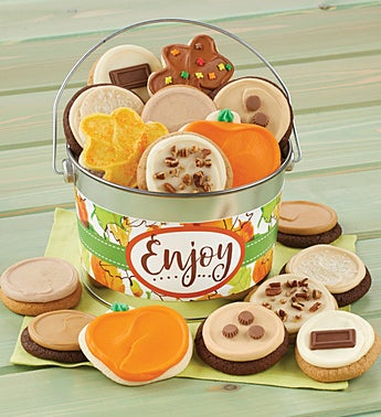 Cheryl's Enjoy Fall Buttercream Pail