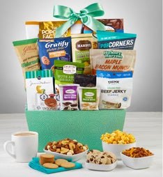 Snacks & Sweets Gift Basket