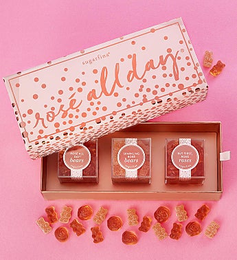 Sugarfina Rosé All Day! Candy Bento Box® 3pc