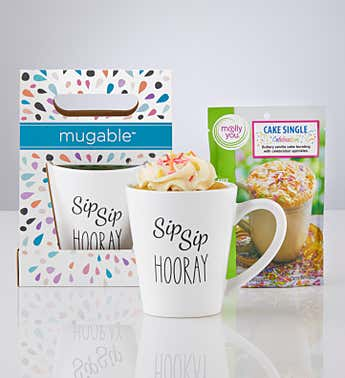 Mugable™ Hooray with Cake Mix