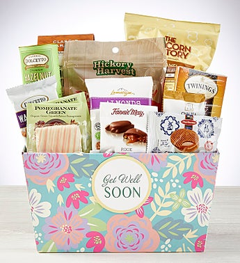 Get Well Soon! Delightful Gift Basket