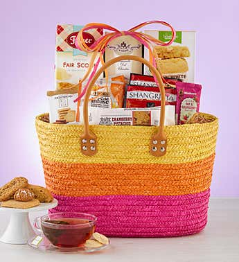 Bright Brunch Time Gift Tote