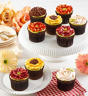 Fall Artisan Cupcakes, 9pc