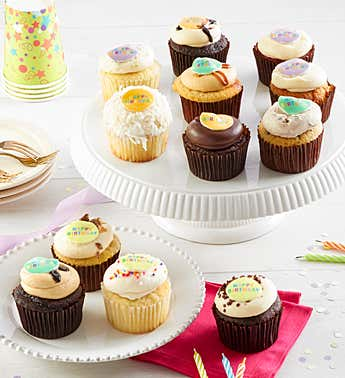 Georgetown Cupcake® Birthday Assortment 12 ct.