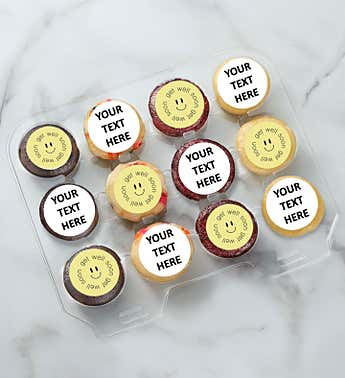 SPOTS NYC Get Well Mini Cupcakes