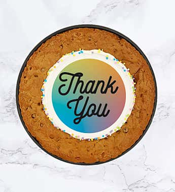 "SPOTS NYC 12"" Thank You Cookie Cake"