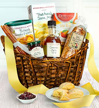Small Breakfast Basket