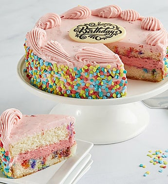 Bake Me a Wish! Birthday Strawberry Funfetti Cake