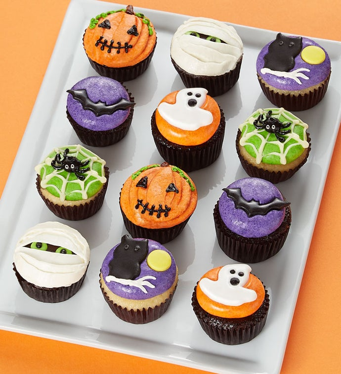 Boo To You! Halloween Mini Artisan Cupcakes