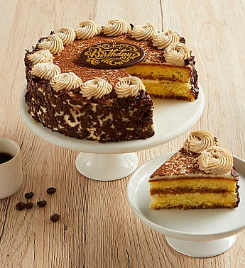 Bake Me a Wish! Happy Birthday Tiramisu Cake