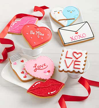 Be My Valentine Artisan Iced Cookies