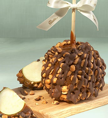 Gourmet Honey Roasted Peanut & Caramel Apple