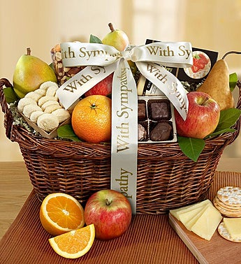 During This Time Gourmet Sympathy Basket